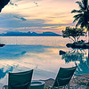 Tahiti Intercontinental sunset-7