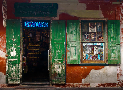 """' Voodoo Shop ' ' New Orleans, LA  12""""x16"""", Luster paper (12 mil) limited edition of 50"""