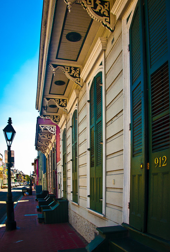 """<center><h2>' 912 St Peter '</h2> New Orleans, LA  12""""x16"""", Luster paper (12 mil) limited edition of 50</center>"""