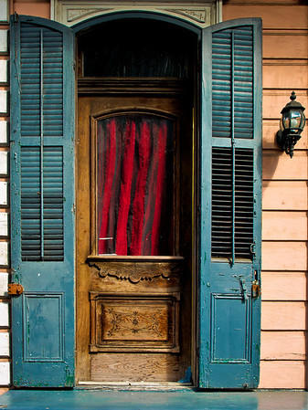 """' Red Velvet' French Quarter, New Orleans, LA  12""""x16"""", Luster paper (12 mil) limited edition of 50"""