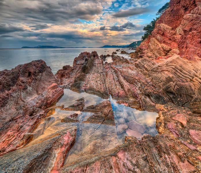 Rockscape #3 (French Riviera)