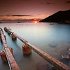 <b>Sunrise @ Théoule sur Mer (French Riviera)</b> <i>Canon EOS 5D Mark II + Canon EF 17-40mm f/4L USM</i>