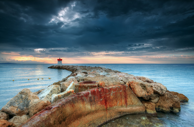 Lighthouse @ Villeneuve Loubet (French Riviera) #2