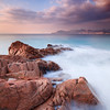 <b>Sunrise @ Cannes La Bocca #3 (French Riviera)</b> <i>Canon EOS 5D Mark II + Canon EF 17-40mm f/4L USM</i>