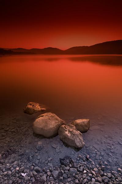 St Cassien Lake (France)