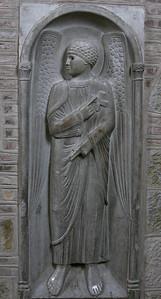 Toulouse, Saint-Sernin Basilica Angel