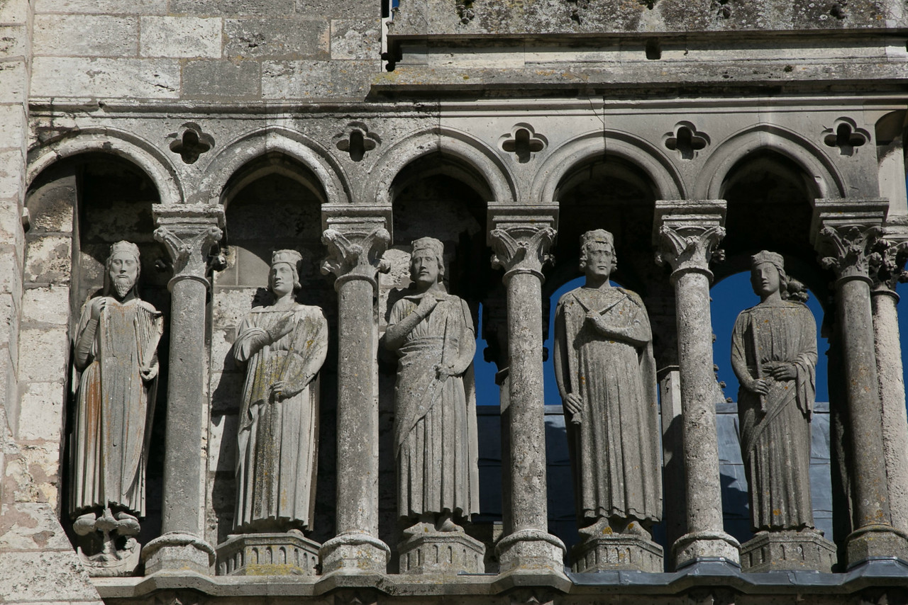 Chartres Cathedral South Porch Kings