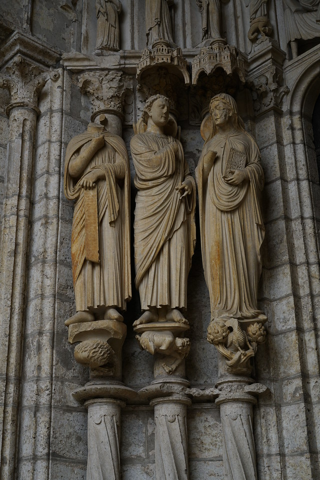 Chartres Cathedral North Porch Annunciation