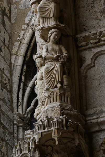 Chartres Cathedral North Porch Figure