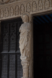 Bourges Cathedral South Porch Christ
