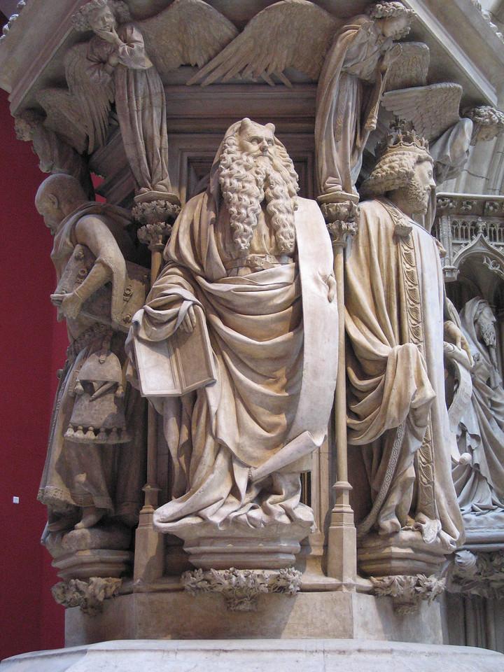 Paris, Trocadero Museum, Claus Sluter Moses