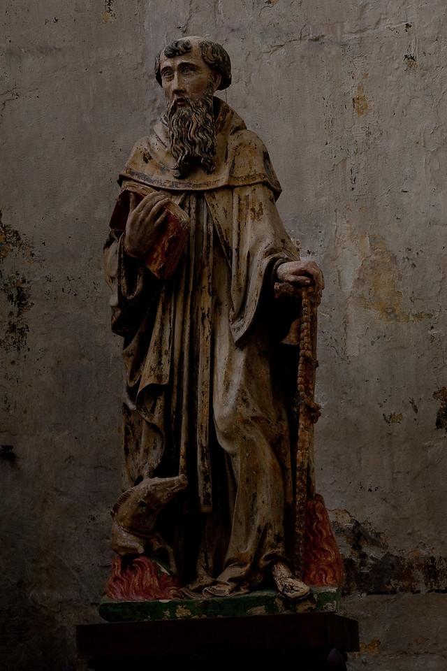 Troyes,  Saint-Pantaleon, Saint Anthony Abbot