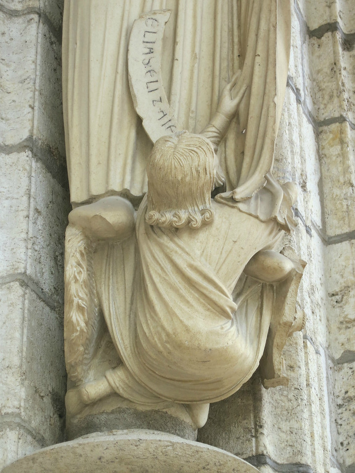 Chartres Cathedral North Porch Socle