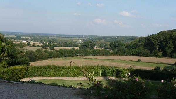 View from Chateau de Montmuran