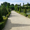 Besides grapes and the production of wine, they welcomed us with a  tour of their beautifully kept formal gardens.
