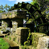 Old water wheel in L'Isle-sur-la-Sorgue