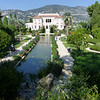 The oh so famous Villa Ephrussi Rothschild.  <br /> <br /> Apparently, money was no object in creating this paradise. It is being pampered and petted today as dearly as it was by the original owner.