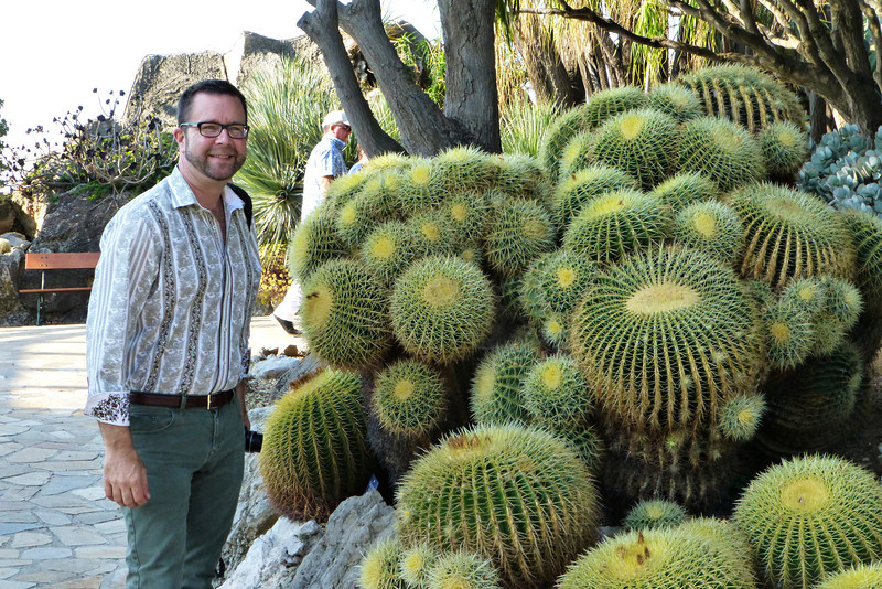 Can you even guess how long these barrel cacti have been growing in this spot? Troy Marden, our Nashville host, is coming up with an answer I'm sure.