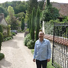 Our delightful host, Stephane Cailloux who owns and has developed an inspired garden at Les jardins du Val in Port Villez France which is 5 min. from Giverny.