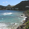 IMG_2490 <br /> on the way to colombier, view on Petite Anse