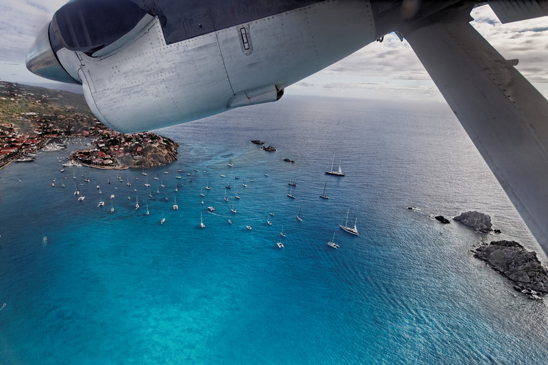 saint barth 2011<br /> landing is always an experience in saint barth!