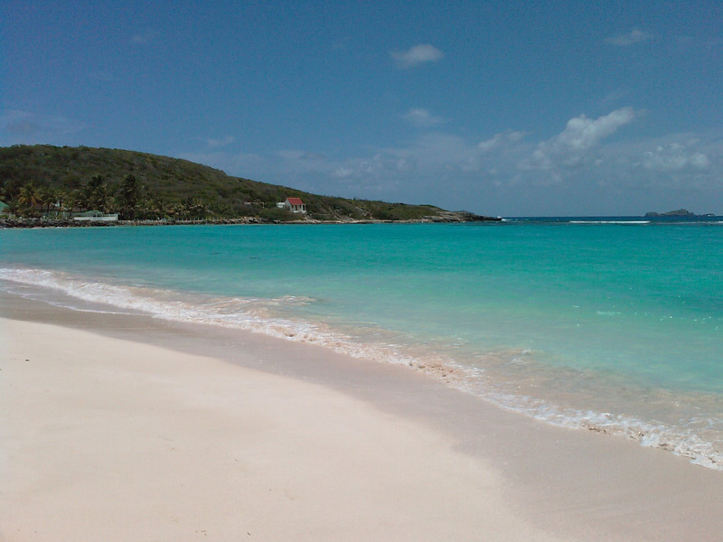 Saint Barth - Saint Jean Bay, the other side <br /> Today, Saint Jean Bay, but the other side!<br /> <br /> No snorkeling but the colours there are just terrific.
