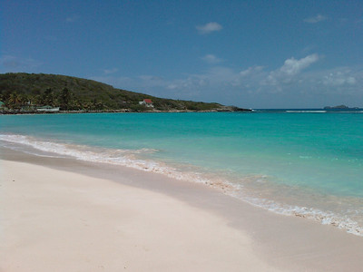 Saint Barth - Saint Jean Bay, the other side  Today, Saint Jean Bay, but the other side!  No snorkeling but the colours there are just terrific.