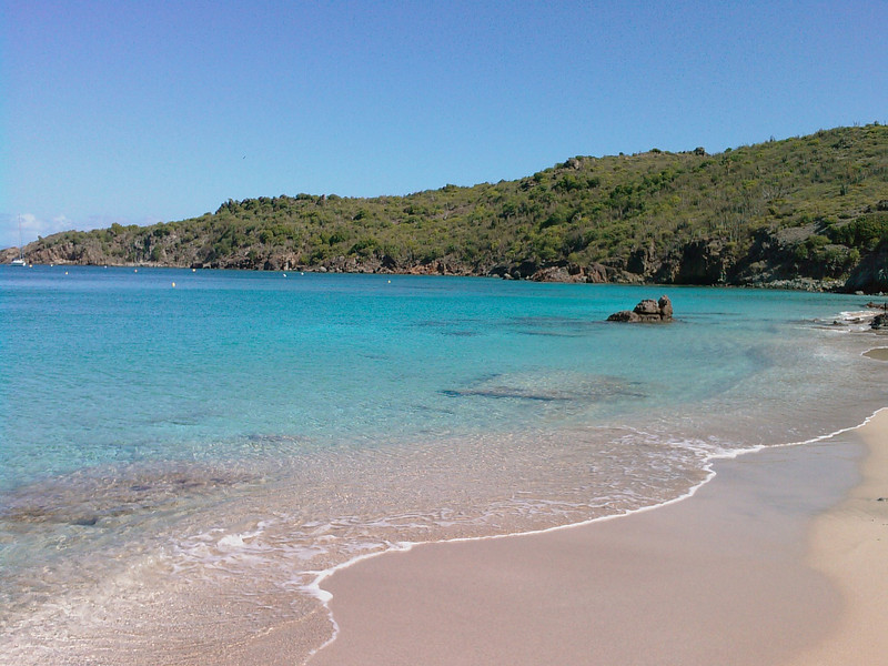 Saint Barth - The king of the beaches (2/2) <br /> And a second picture, taken directly from the beach.