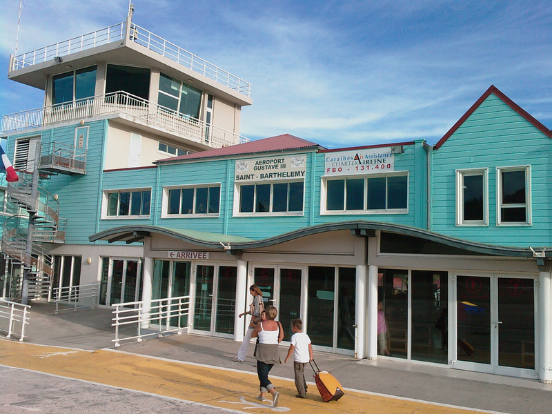 Saint Barth - Travel<br /> Airport