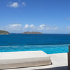 Saint Barth - Villa Ella, aka SIB BBS<br /> In St. Jean, stone walls and turquoise tiles lead up to the commanding ocean view and impressive 55' (17m) pool