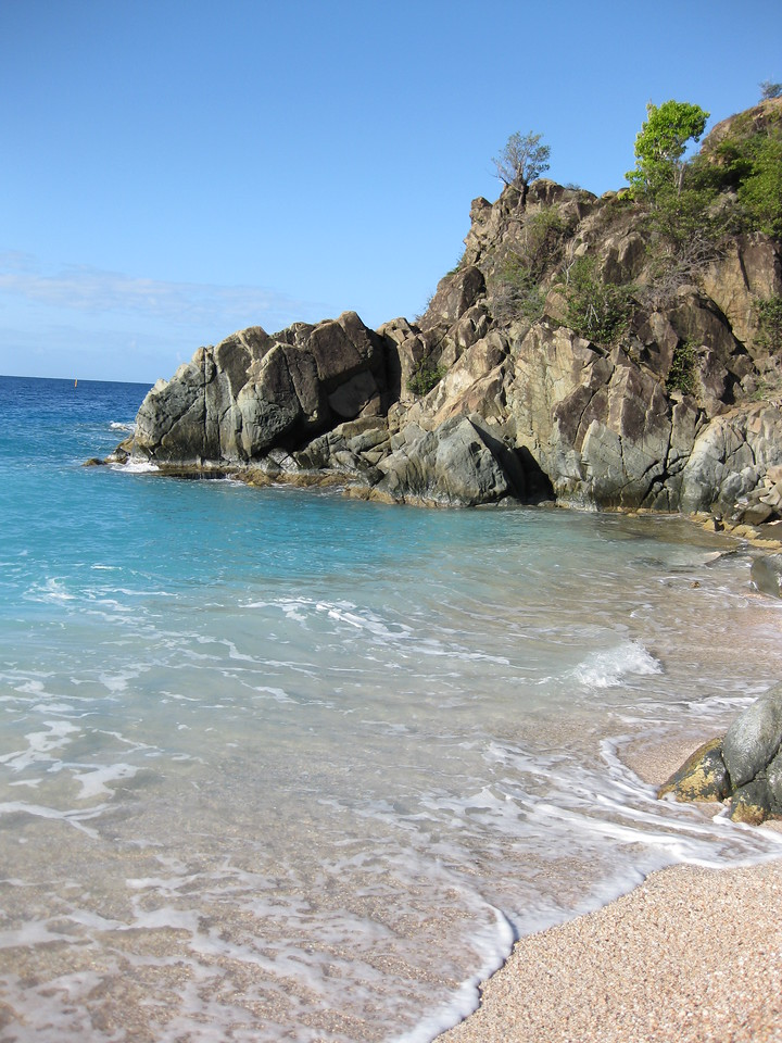 Saint Barth - Beach Shell beach