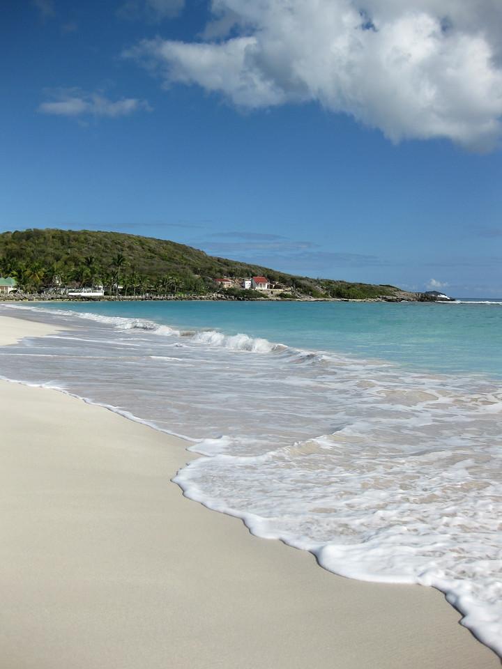Saint Barth - Beach Saint Jean beach, from the airport side