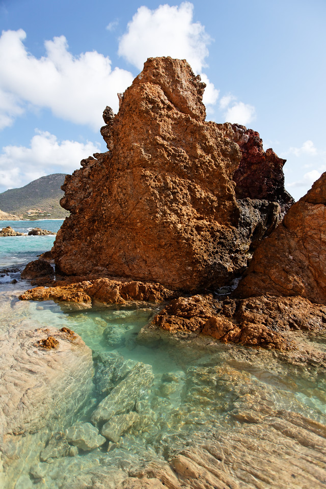 Saint Barth - Natural pools From the pools