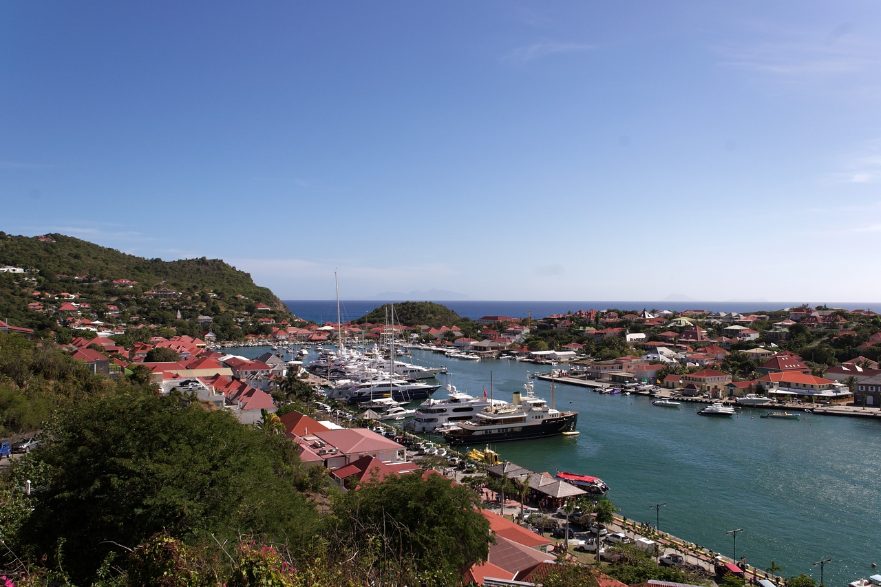 Saint Barth - Gustavia From the lighthouse