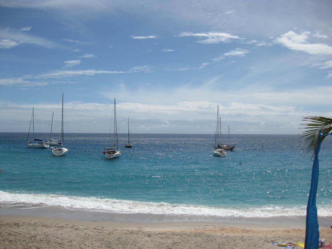 Saint Barth - Beach Shell beach
