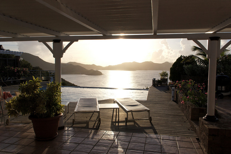 Saint Barth - Villa L'Abricotier, aka SIB DOR<br /> Located in Pointe Milou with a spectacular view of the ocean