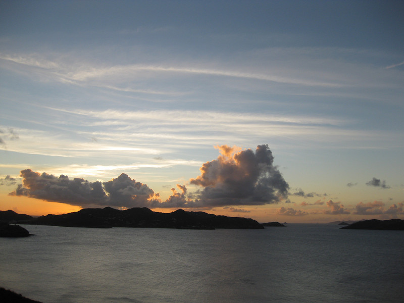 Saint Barth - Sunset<br /> From the villa L'Abricotier (DOR)