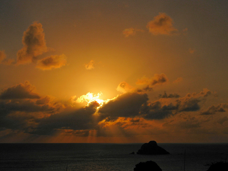 Saint Barth - Sunset<br /> From the lighthouse above Gustavia