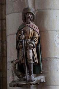 Chaource, Eglise Saint-Jean-Baptiste - Saint-Roche