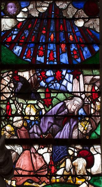 Chaource, Eglise Saint-Jean-Baptiste - Last Judgement Damned