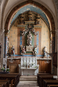 Chaource, Eglise Saint-Jean-Baptiste - Chapel of The Virgin