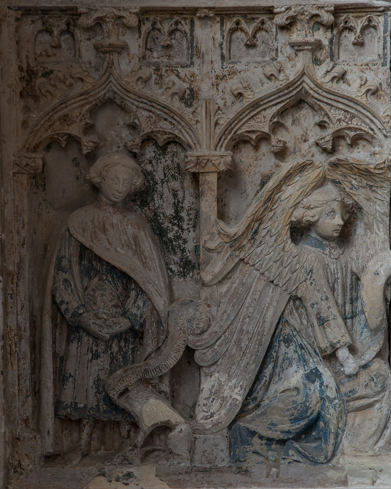 Chaource - The Annunciation - Gabriel & Saint-Mammes