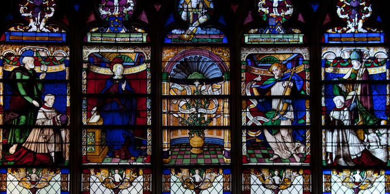 Troyes - Saint-Jean-au-Marche - The Annunciation