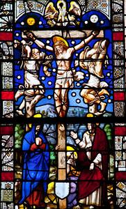 Bayel, Church of Saint Martin, The Crucifixion