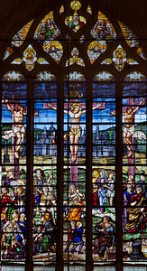 Bar-sur-Seine, Church of Saint Stephen, The Crucifixion Window