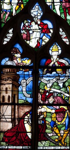 Clerey, The Beheading of Saint Barbara