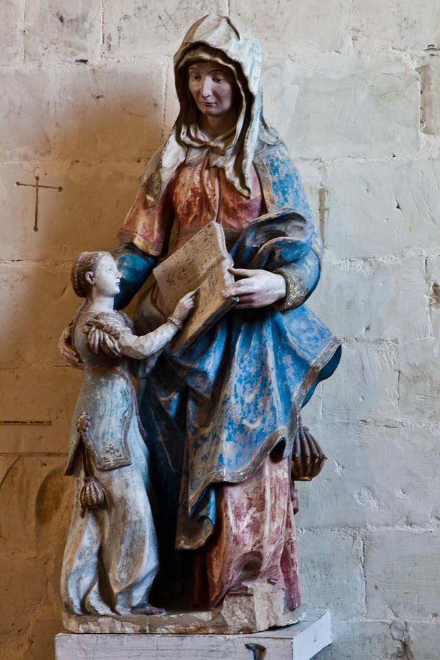 Geraudot, Saints Peter and Paul Church, Education of The Virgin