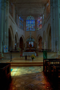 Bar-sur-Seine, Church of Saint Stephen Choir