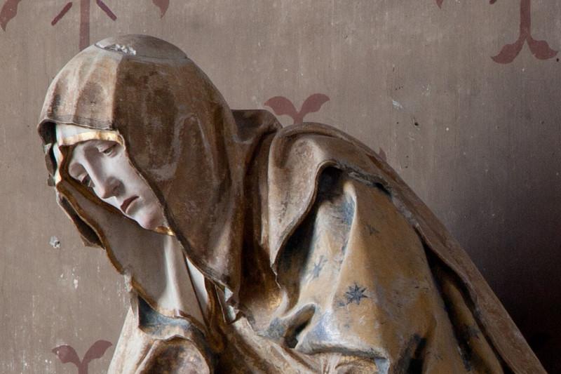 Bayell, Saint Martin Church Pieta, The Virgin