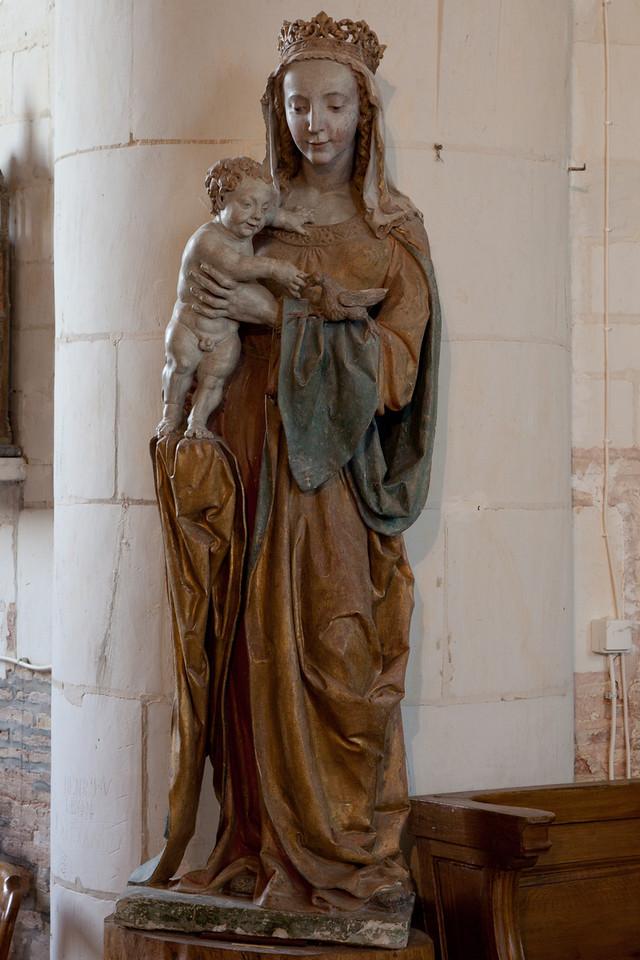 Geraudot, Saints Peter and Paul Church Virgin and Child